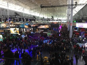 PAX East Day 1 Expo Floor